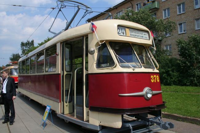 T2SU-Tw 378 am 12. Juni 2010 in Moskau (Foto: A.Savin)