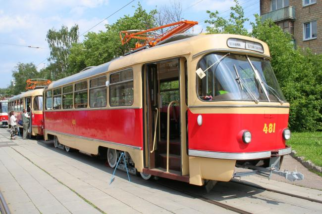 T3SU-Tw 481 am 12. Juni 2010 in Moskau (Foto: A.Savin)