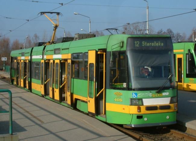 RT6N1-Tw 408 am 19. März 2006 in Poznan auf der Linie 12 (Foto: Radomil)