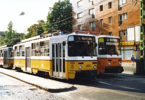 T5C5-Prototypen 4000 und 4001 als Doppeltraktion im August 1994